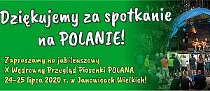 Dziękujemy za spotkanie na POLANIE !