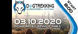ZAWODY DOGTREKKING 3 PAŹDZIERNIKA - START - META - SCHRONISKO SZWAJCARKA